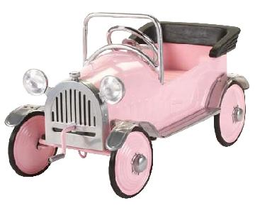 Pottery Barn Limited Edition Vintage Pedal Toy Car