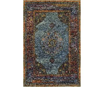 Oriental Weavers Andorra Blue Multi Area Rug