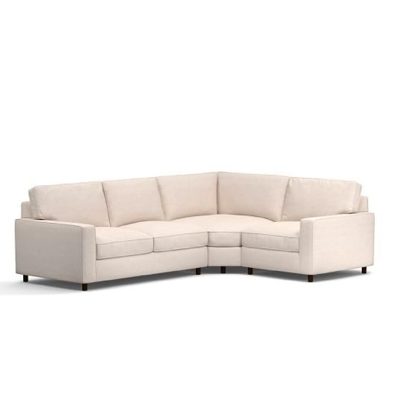 Pottery Barn PB Comfort 3 Piece Sectional Sofa ...