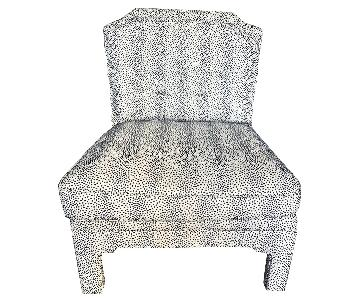 Dwell Studio Dot Print Accent Chair