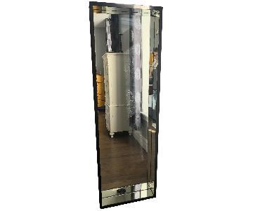 Full Length Wood Framed Mirror