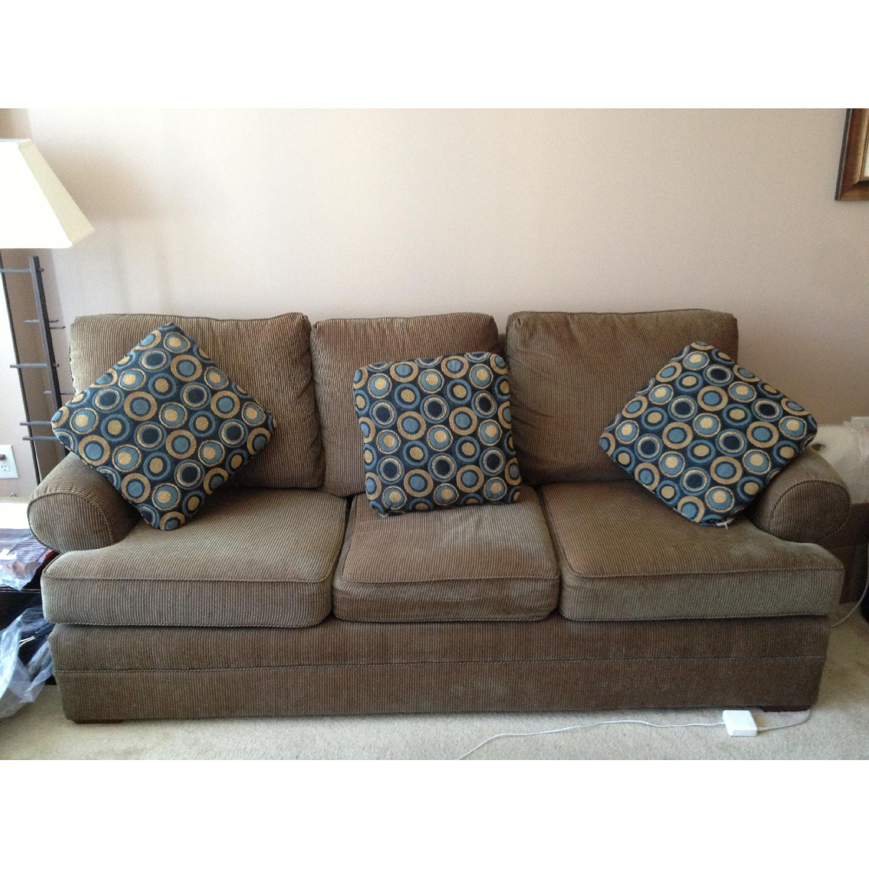 Kincaid Custom Upholstery Slipcovered Sofa; Kincaid Custom Upholstery  Slipcovered Sofa 0 ...