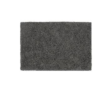 Crate & Barrel Grey Area Rug