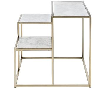 West Elm City Scape Side Table