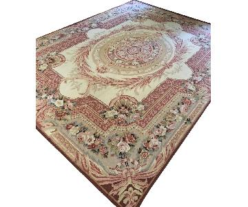 ABC Carpet and Home French Aubusson Wool Rug