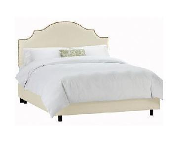 World Menagerie Rosecrans Upholstered Panel Bed