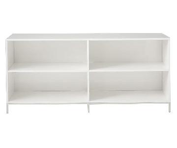 West Elm Lacquer Storage Bookcase