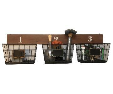 Rustic Farmhouse Wall Baskets