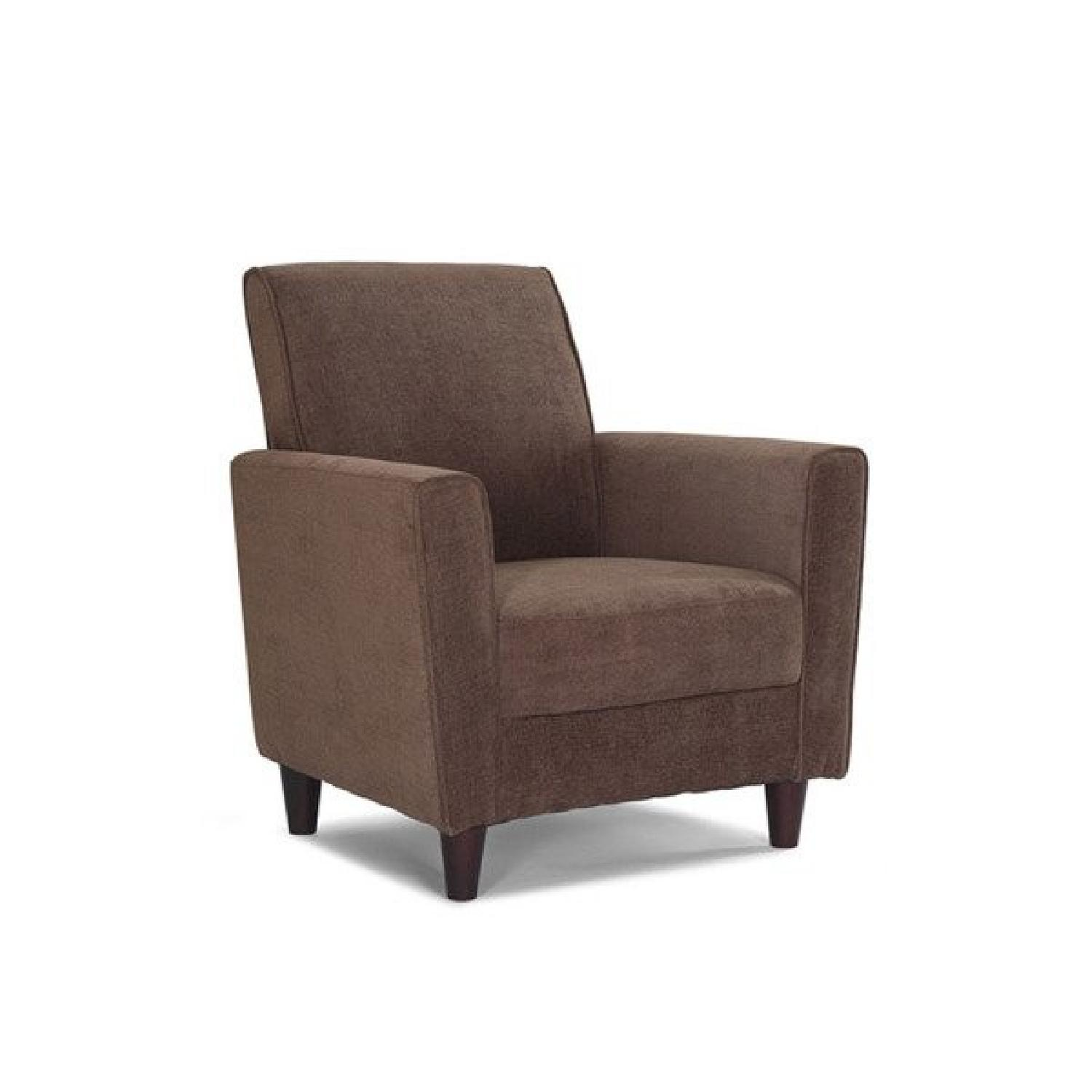 Enzo Brown Accent Chair ...