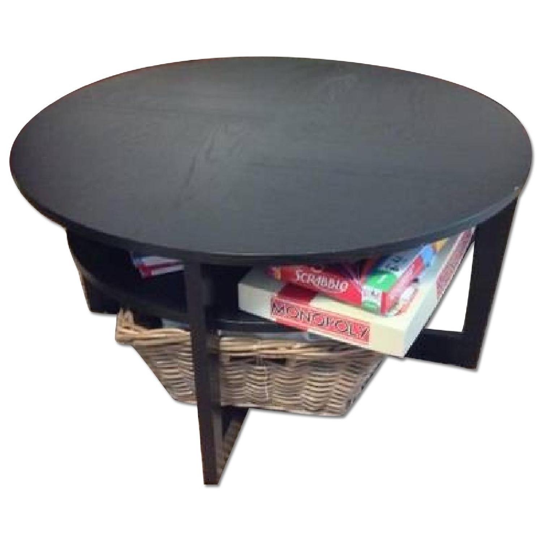 Ikea Vejmon Wood Coffee Table Aptdeco