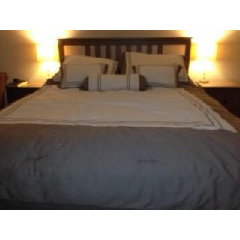 Ikea Hemnes Bedroom Set In Grey Brown Aptdeco