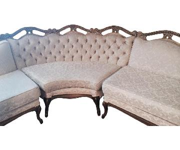 Antique Sectional Sofa