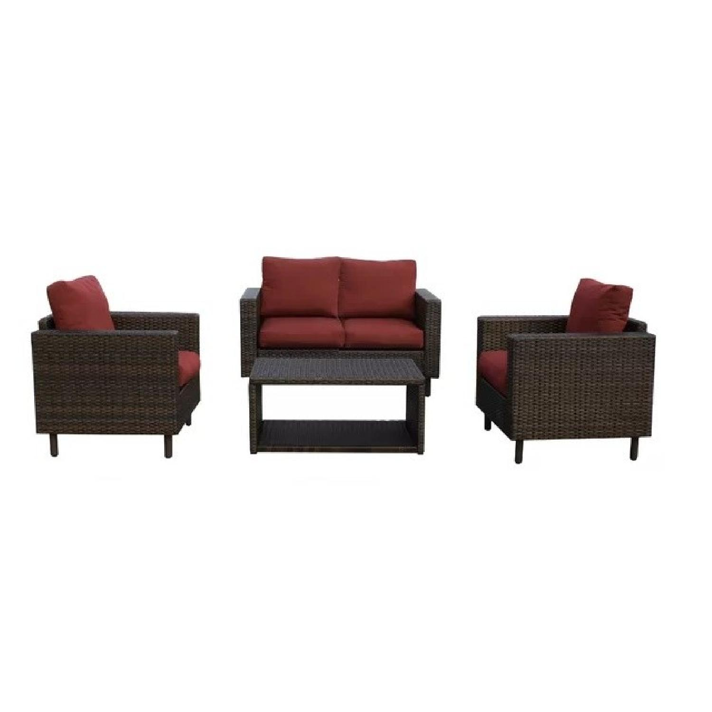 Ivy Bronx Suwanee 4 Piece Outdoor Furniture Set ...
