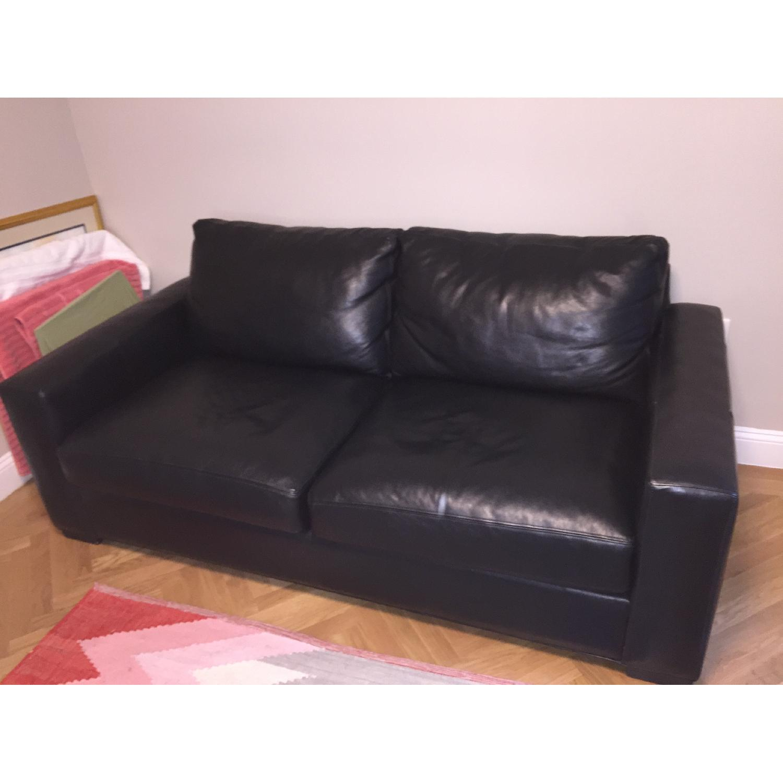 ... Room U0026 Board Ian Leather Sofa 0 ...
