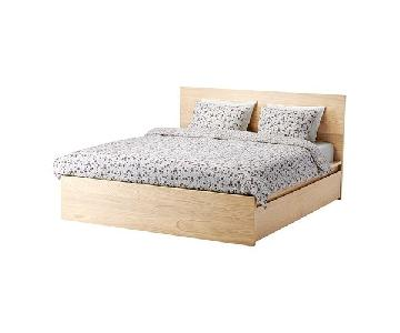 Ikea Malm Full Bed w/ Storage