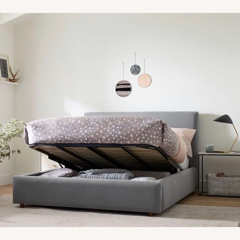 West Elm Haven King Bed BRAND NEW - image-5