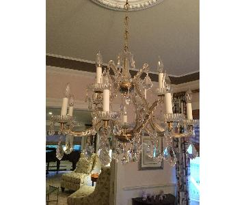 Classic Lighting Crystal Chandelier