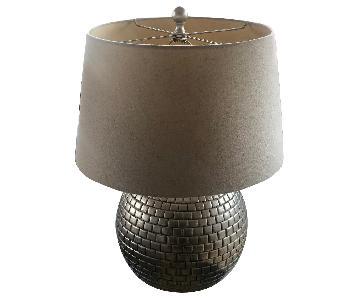 Modern Metal Base Table Lamp