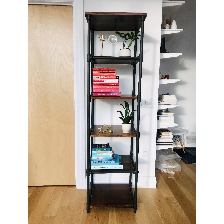 CB2 Reclaimed Wood Standalone Bookshelf