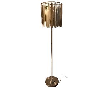 Pier 1 Golden Feather Floor Lamp