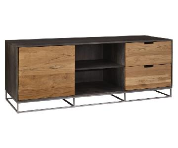 CB2 Congo Media Credenza/Wood TV Stand