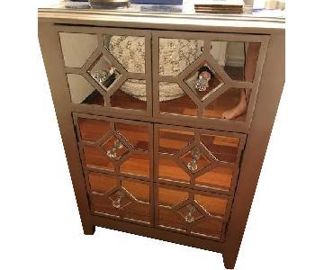 Home Goods Mirrored Nightstand