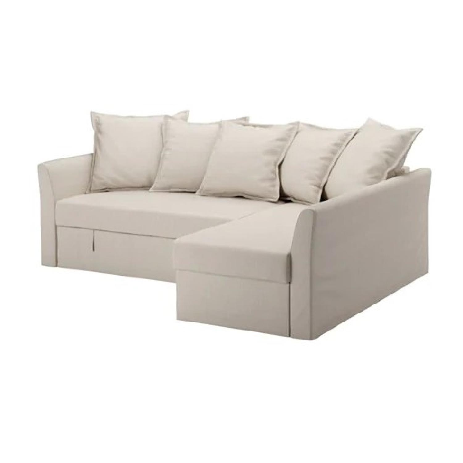 Ikea Holmsund 3 Seat Sleeper Sectional Sofa ...