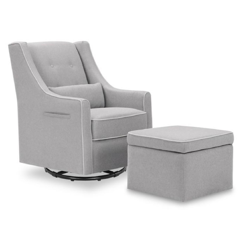 Buy Buy Baby Swivel Nursing Chair U0026 Ottoman ...