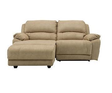 Raymour & Flanigan Mackenzie Reclining Chaise Sectional Sofa