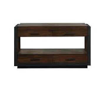 Vintange Bourbon Sofa Table
