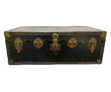 Antique Pakawa Steamer Trunk Chest