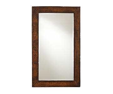 Pottery Barn Benchwright Floor Mirror