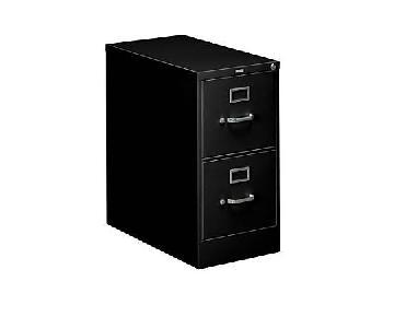 Hon File Cabinet in Black