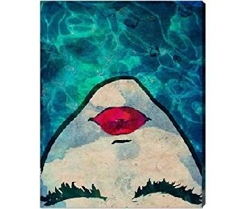 Oliver Gal Water Coveted Canvas