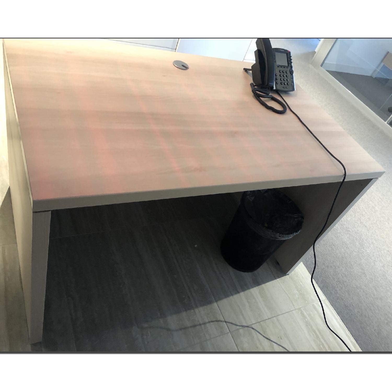... Steelcase Modular Office Desk 1 ...
