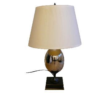 Restoration Hardware Empire Egg Table Lamp