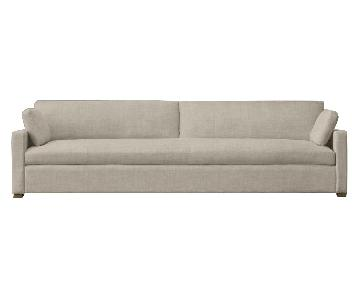 Restoration Hardware Belgian Track Arm Sofa in Belgian Sand
