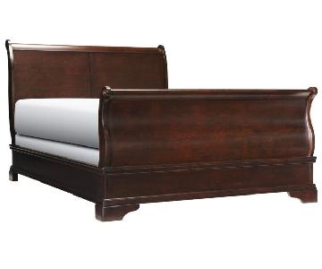 Macy's Louis Philippe King Sleigh Bed