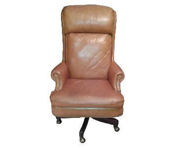 Hancock & Moore Leather Desk Chair