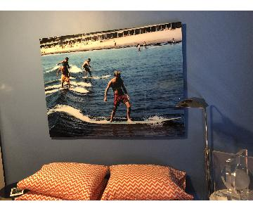 Slim Aarons Photograph - Surfing Brothers