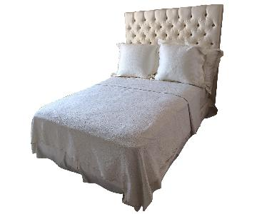 Full Size Bed w/ Silk Headboard