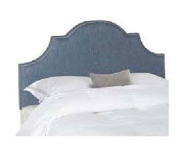 Safavieh Upholstered Arched Queen Headboard