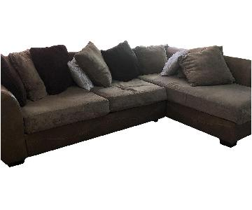 Ashley Brown 3-Piece Sectional Sofa