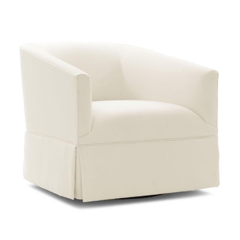 Mitchell Gold + Bob Williams Cooper Full Swivel Chair-1