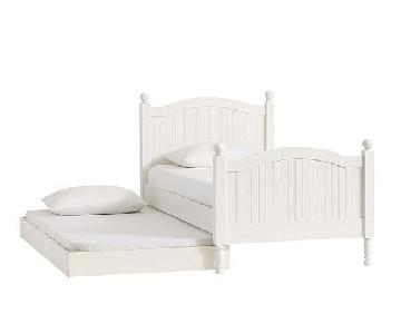 Pottery Barn Catalina Twin Bed w/ Trundle