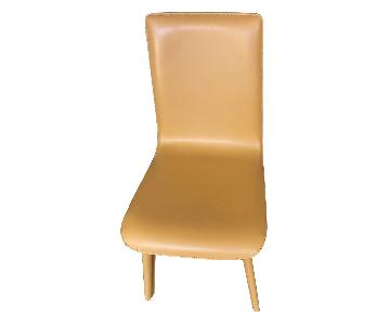 Room & Board Hirsch Leather Dining Chairs