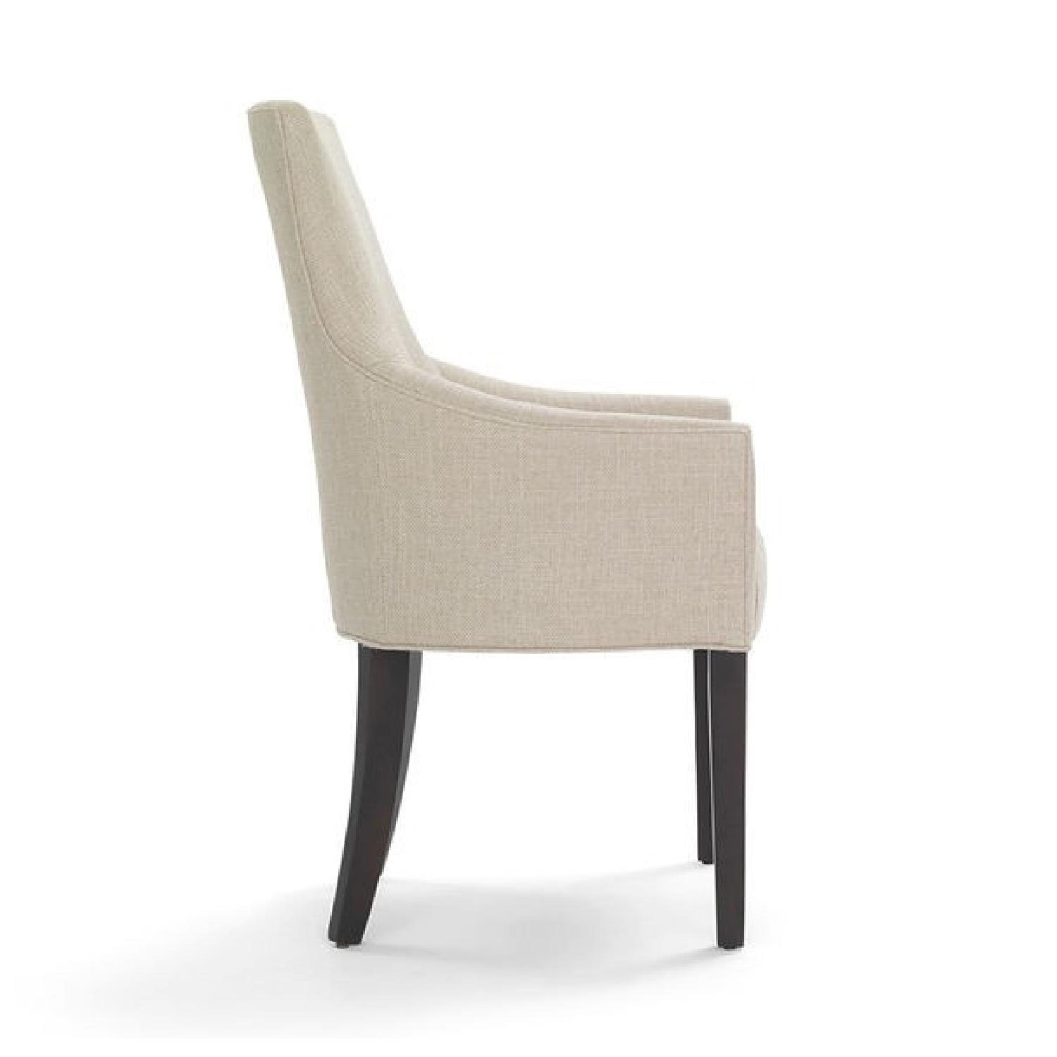 Mitchell Gold + Bob Williams Ada Arm Chair in Suede-Stone-1