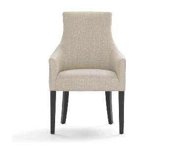 Mitchell Gold + Bob Williams Ada Arm Chair in Suede-Stone