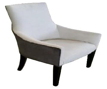 Mitchell Gold + Bob Williams Ada Arm Chair in Suede-Dove