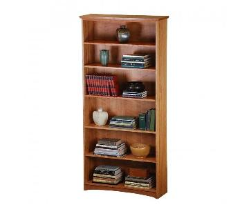 Scott Jordan Cherry Standard Bookcase